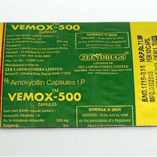 Kopen Amoxicilline bij Nederland | Vemox 500 Online