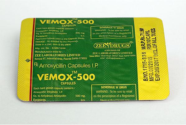 Kopen Amoxicilline bij Nederland   Vemox 500 Online